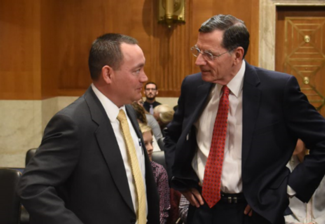 Barrasso welcomes Miyamoto to the committee